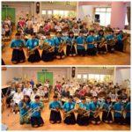 二俣川看護福祉高校吹奏楽部が来てくれました